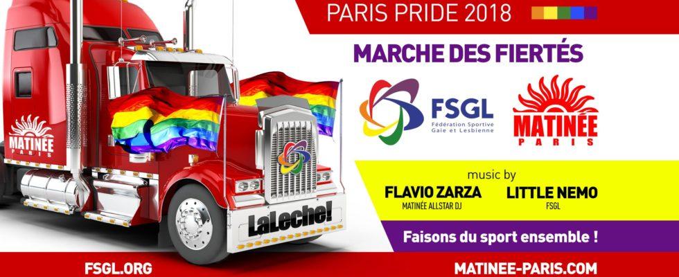 Gay Pride Paris 30 Juin 2018