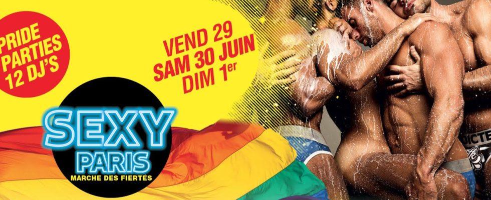 Gay Pride Paris Weekend