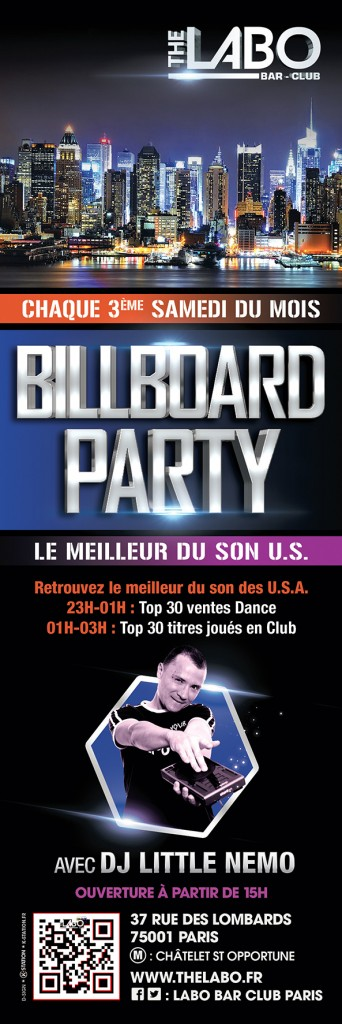 Billboard Party @ The Labo