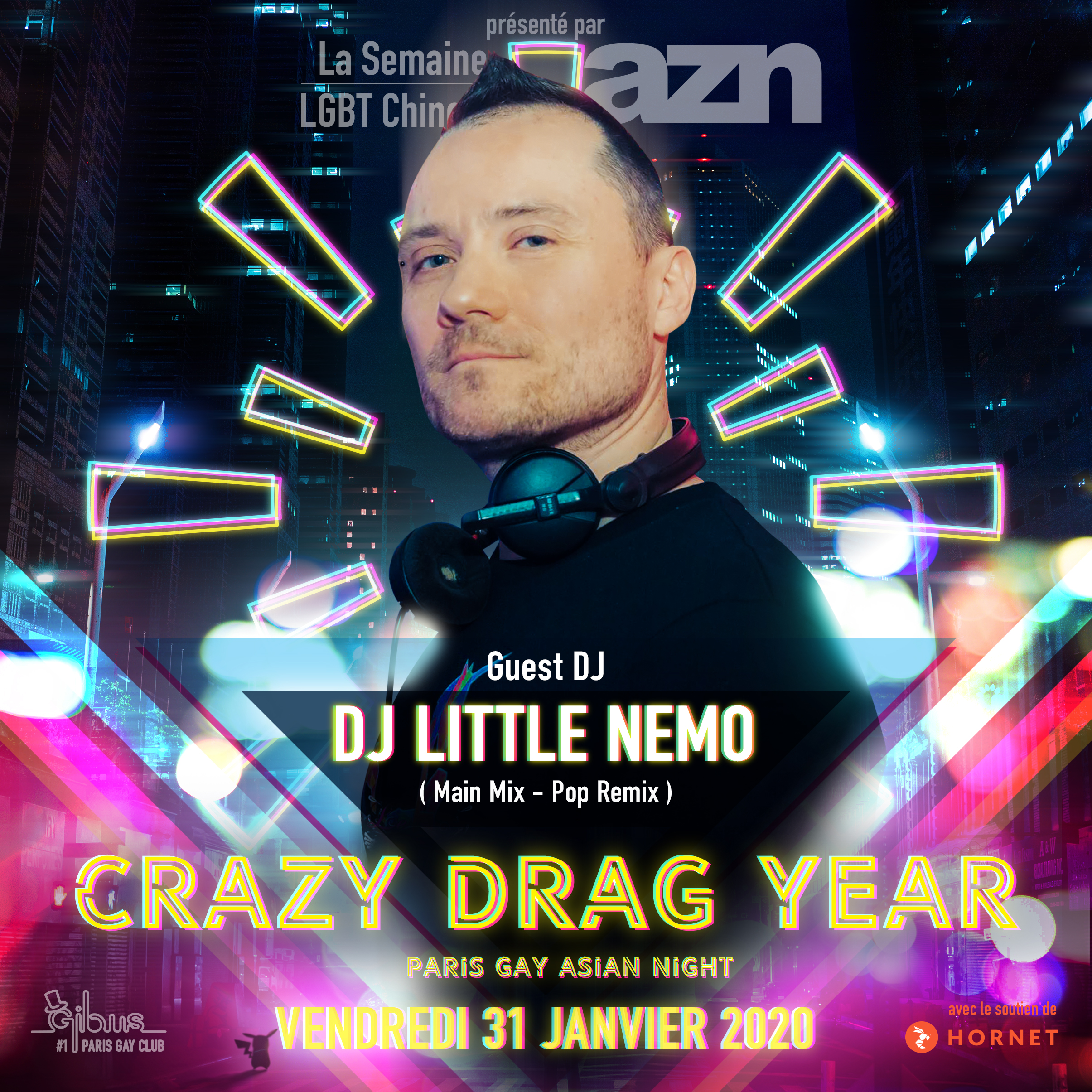 AZN New Year 2020 @ Gibus Paris